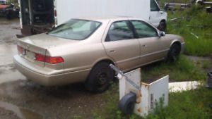 Parting out  2   1999  toyota Camry's CALLS ONLY!