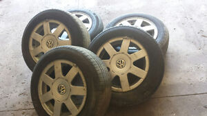 Michelin & Kumho tires 195/65 R15
