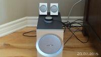 Bose Companion 3 ensemble 2 haut-parleurs et subwoofer