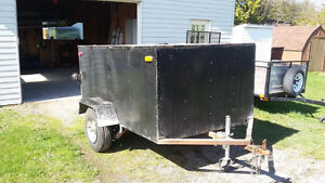 Custom Enclosed Cargo Trailer Kawartha Lakes Peterborough Area image 2