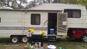 32ft 5th wheel trailer