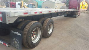 53' Great Dane Flat Bed Trailer Cambridge Kitchener Area image 2