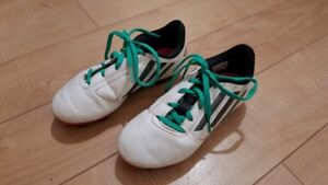 Adidas Soccer shoes/cleats (Size 1)