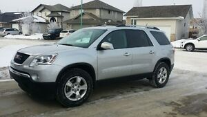 2010 GMC Acadia black SUV, Crossover