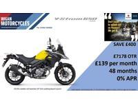 SUZUKI V-STROM 650 AL8 - 48 months 0% finance available