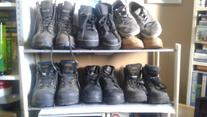 Mens shoes and work boots