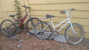 Two adult bikes for sell (one is $40 and one is $70 or OBO)