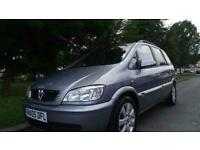 VAUXHALL ZAFIRA BREEZE 16V - 7 SEATER 2005 Manual 75641 Petrol Silver Petrol