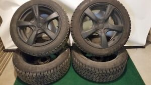 P235/50R18 Toyo Observe Open County Winter Tires and Alloy Rims