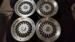 Bbs rs replica wheels 5x114