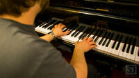 Jazz, blues, rock, and pop piano lessons