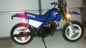 Yamaha pw50 and gear