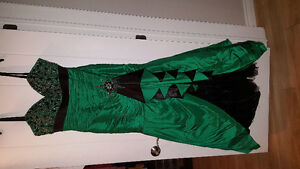 Green beaded dress perfect for any occasion