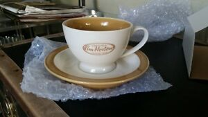Tim Horton's Tea Cup and Saucer Set  (2 sets)