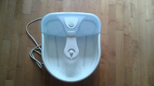 Conair Foot Spa with Massaging Bubbles & Heat