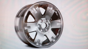 2007-2014 GMC Sierra 20 inch polished wheel