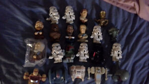 2008 Star Wars Happy Meal toys, 21 figures