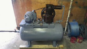 Air compressor 240 volt single phase reconditioned