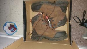 Wolverine greenshield winter work boots size 9