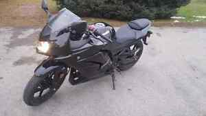 Kawasaki ninja 250r (lowest kilometers on kijiji)