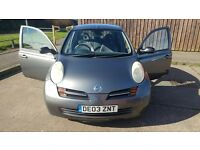 Nissan micra 03 plate 2003