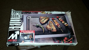 Smokeless Stove Top Double Grill
