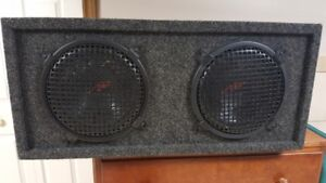 Sub woofer box and speakers