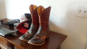 Botte de cowboys tin haul