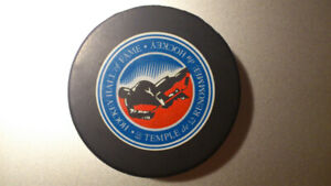 Hockey Hall of Fame - Collectible Puck Full Size Logo