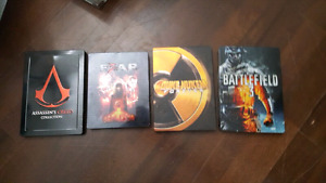 Steel book game cases