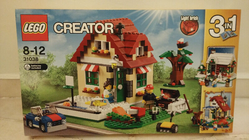 Brand New Lego Creator - 3 seasons
