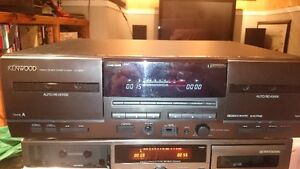 Kenwood Dual Cassette Deck CT-203
