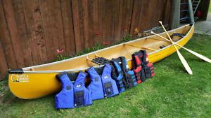 16 foot Scott Canoe, prospector line