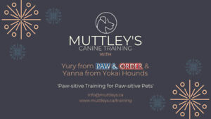 New Sessions Starting on March 19 @ Muttley's Canine Training