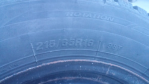 Winter tires 215 65 R16