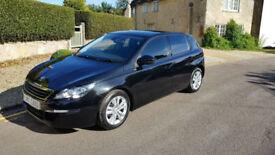 2014 (14) Peugeot 308 1.6HDi (92bhp) Active