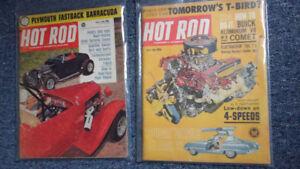 Hot rod magazines 1950s