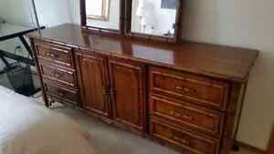 Unique antique 7 pcs Bedroom Suite. Price reduced