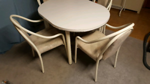 REDUCED PRICE - Oval Kitchen Table and Chairs