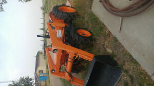 1986 Kubota L345DT tractor & attachments