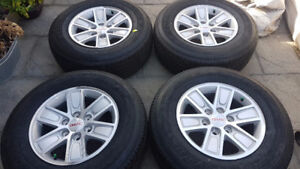 "!! GMC TRUCK / SUV FACTORY 17""RIMS & TIRES $1250.00 !!"