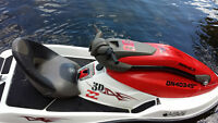 Seadoo 3D with trailer and drive on floating dock