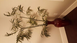 Vase with stems