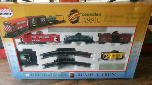 Canadian classic train set