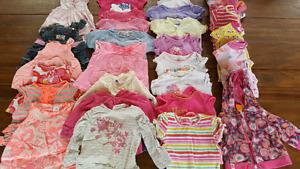 Vêtements d'été pour fille- 9-12 mois