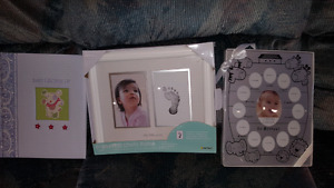 Baby's picture frame and album