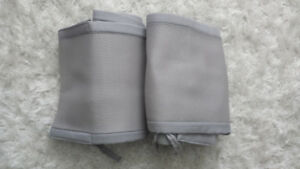 Grey Breathable Bumper Pads