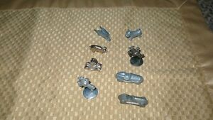 "VINTAGE ""8 ORIGINAL MONOPOLY GAME PIECES"" PEWTER Kitchener / Waterloo Kitchener Area image 1"