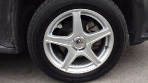 Set of 4 GM Rims and Tire off a Pontiac Torrent... Price is Firm