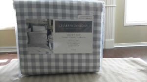 Charter Club Damask Design printed sheet sets 500 thread count